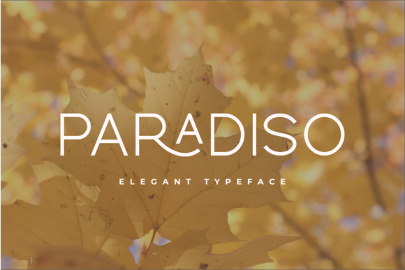 Print on Demand: Paradiso Sans Serif Font By Pen Culture