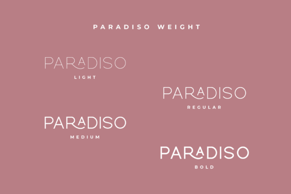 Print on Demand: Paradiso Sans Serif Font By Pen Culture - Image 10