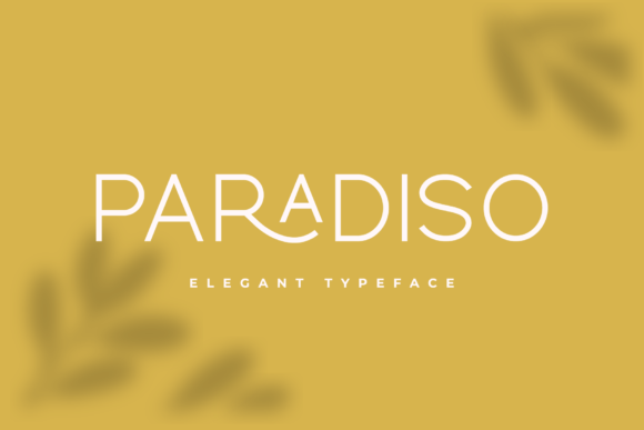 Print on Demand: Paradiso Sans Serif Font By Pen Culture - Image 2
