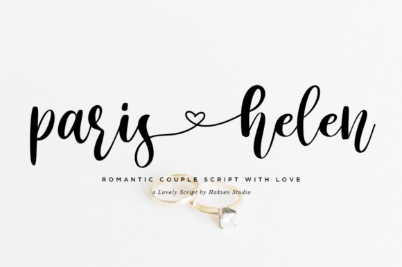 Print on Demand: Paris Helen Script & Handwritten Font By Haksen