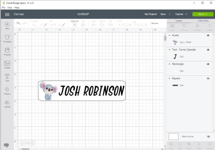 Download Free Craft Tutorial Personalized Stationary Labels Creative Fabrica for Cricut Explore, Silhouette and other cutting machines.