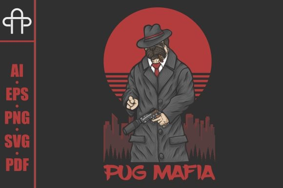 Print on Demand: Pug Mafia Graphic Illustrations By Andypp