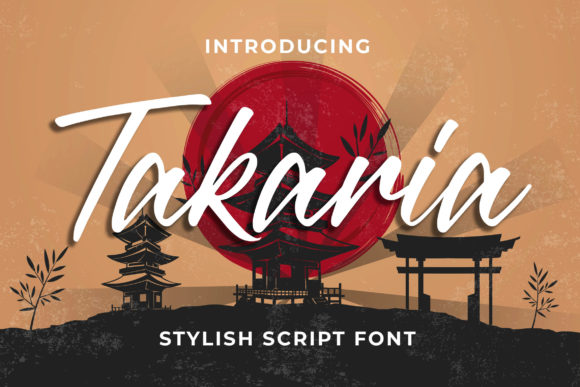 Print on Demand: Takaria Script & Handwritten Font By Blankids Studio