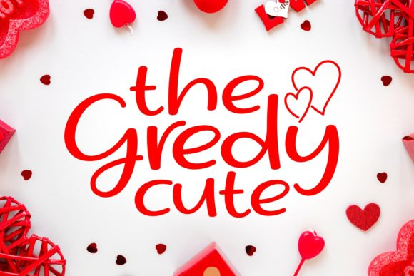 Print on Demand: The Gredy Cute Script & Handwritten Font By Keithzo (7NTypes)