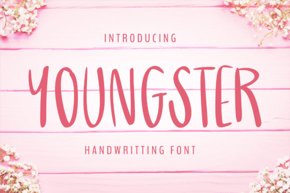 Print on Demand: Youngster Script & Handwritten Font By bitongphoto