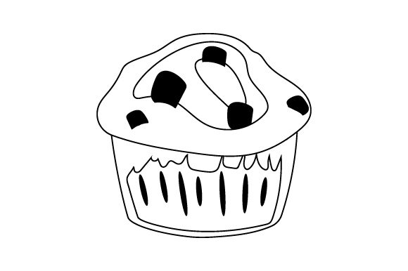 Download Free Muffin Svg Cut File By Creative Fabrica Crafts Creative Fabrica for Cricut Explore, Silhouette and other cutting machines.
