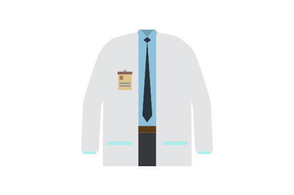 Lab Coat Work Craft Cut File By Creative Fabrica Crafts
