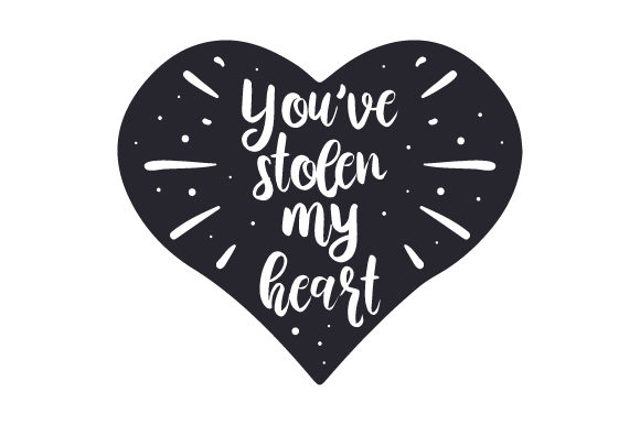 Download Free You Ve Stolen My Heart Svg Cut File By Creative Fabrica Crafts for Cricut Explore, Silhouette and other cutting machines.