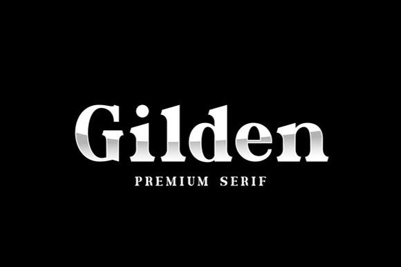 Print on Demand: Gilden Serif Font By Hanzel Studio - Image 2