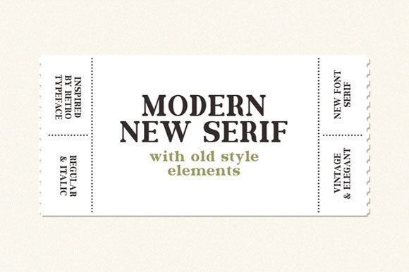 Print on Demand: Gilden Serif Font By Hanzel Studio - Image 3
