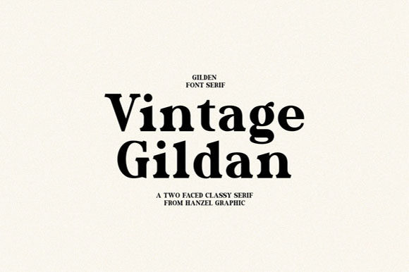Print on Demand: Gilden Serif Font By Hanzel Studio - Image 7