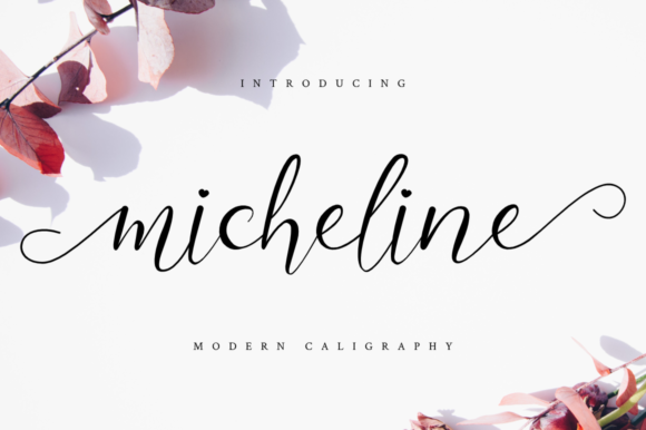 Print on Demand: Micheline Script & Handwritten Font By Haffa Studio