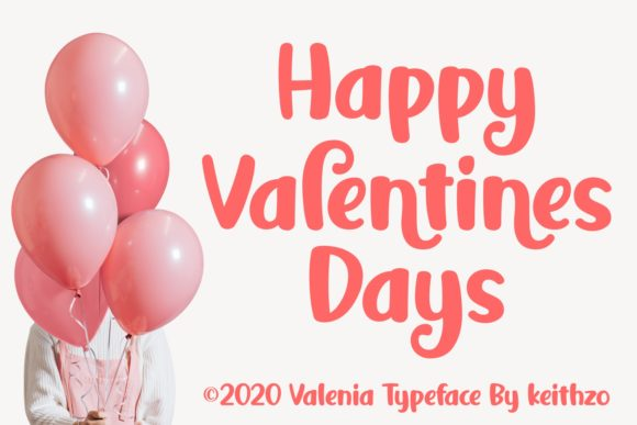 Print on Demand: Valenfy Script & Handwritten Font By Keithzo (7NTypes) - Image 3