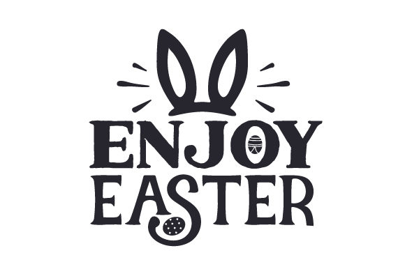 Download Free Enjoy Easter Svg Cut File By Creative Fabrica Crafts Creative for Cricut Explore, Silhouette and other cutting machines.
