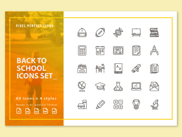 Print on Demand: Back to School Graphic Icons By kerismaker