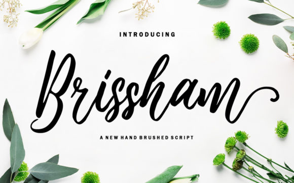 Print on Demand: Brissham Script & Handwritten Font By rotterlabstudio
