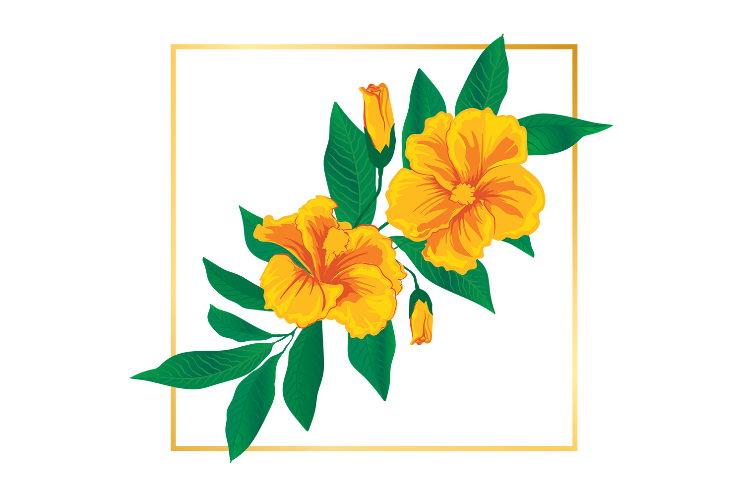 Download Free Cute Vintage Floral Flower Illustrations Grafico Por Grappix for Cricut Explore, Silhouette and other cutting machines.