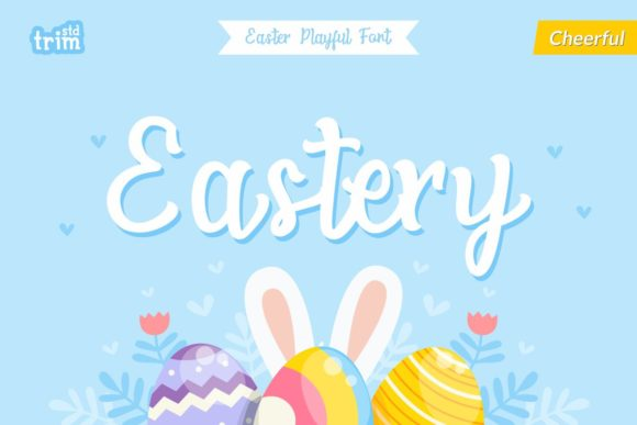 Print on Demand: Eastery Script & Handwritten Font By Trim Studio