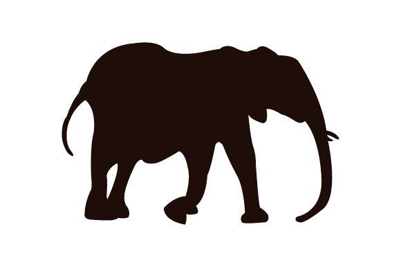 Download Free Elephant Icon Graphic By Marco Livolsi2014 Creative Fabrica for Cricut Explore, Silhouette and other cutting machines.