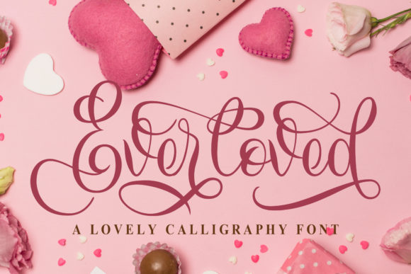 Print on Demand: Everloved Script & Handwritten Font By Doehantz Studio