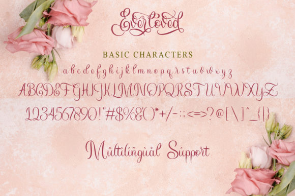 Print on Demand: Everloved Script & Handwritten Font By Doehantz Studio - Image 8