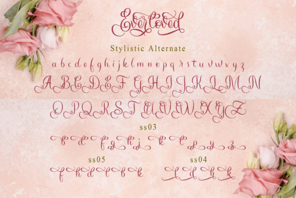 Print on Demand: Everloved Script & Handwritten Font By Doehantz Studio - Image 9