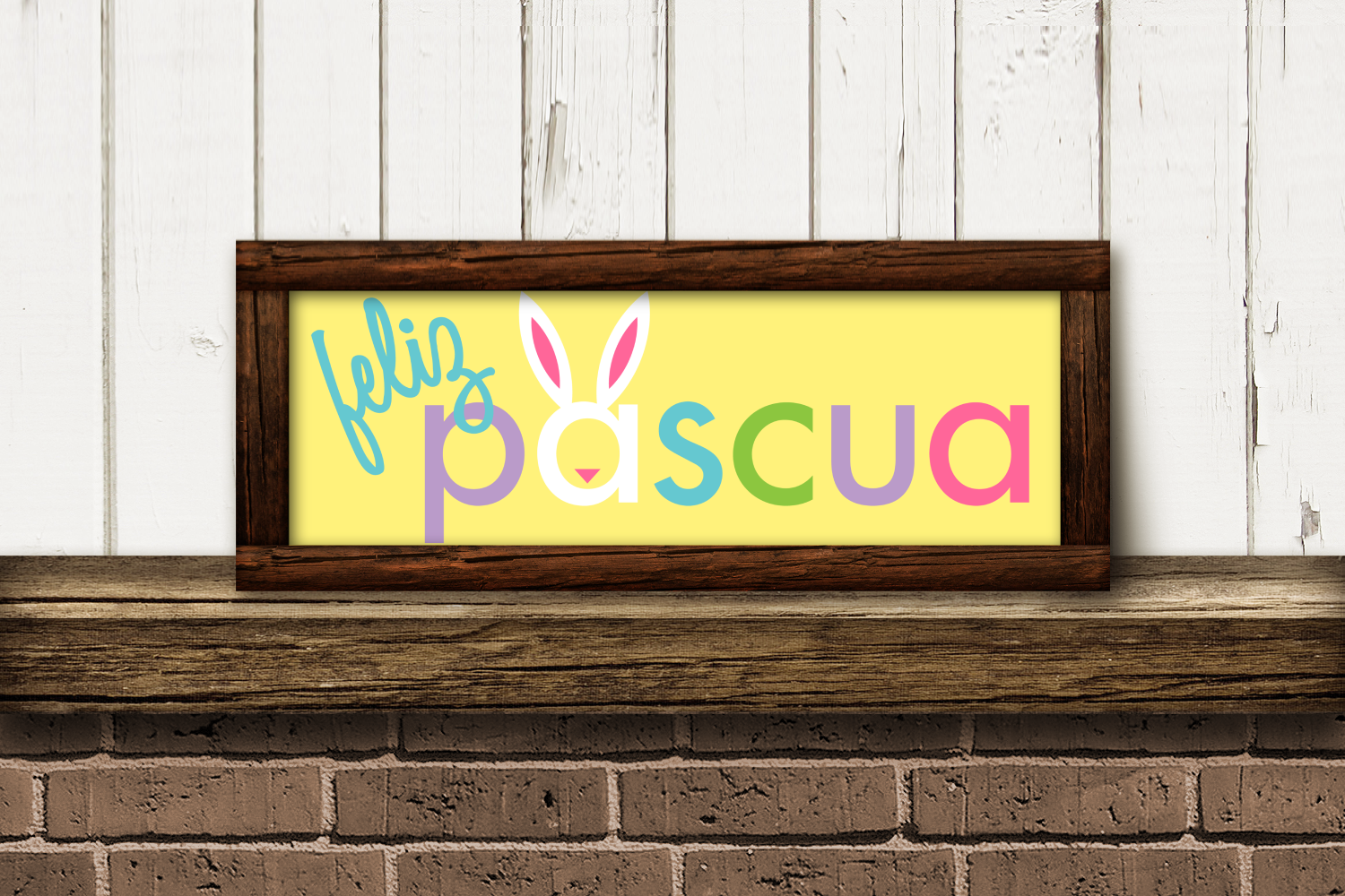 Download Free Feliz Pascua Easter Graphic By Risarocksit Creative Fabrica for Cricut Explore, Silhouette and other cutting machines.