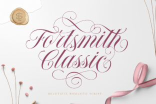 Print on Demand: Forth Smith Script & Handwritten Font By letterhend