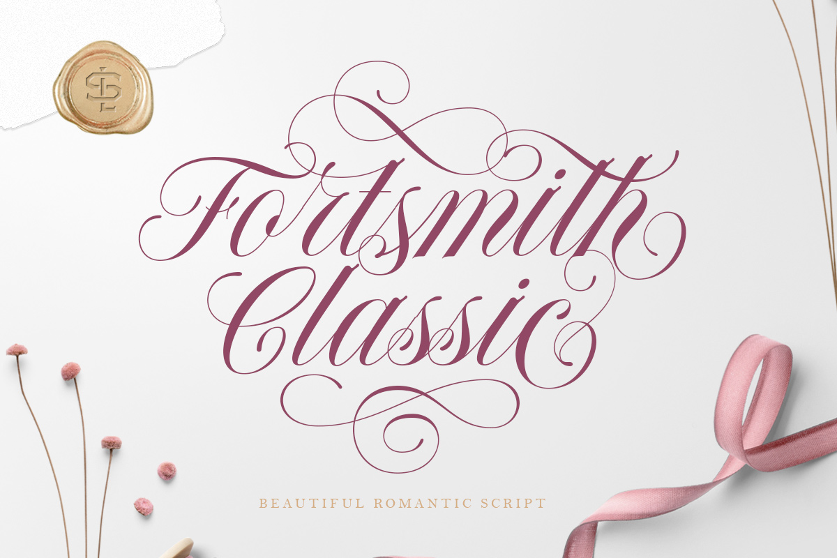 Download Free Forth Smith Font By Letterhend Creative Fabrica for Cricut Explore, Silhouette and other cutting machines.