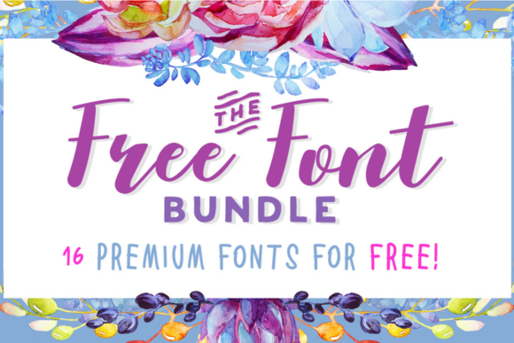 Download Free The Best Graphics Design Embroidery Font Bundles Creative for Cricut Explore, Silhouette and other cutting machines.