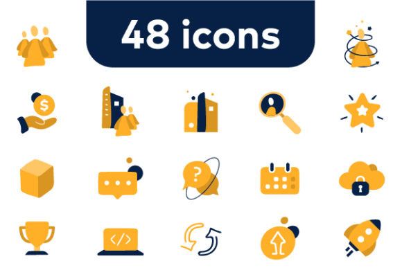 Icon Set Graphic Icons By matijablagojevic