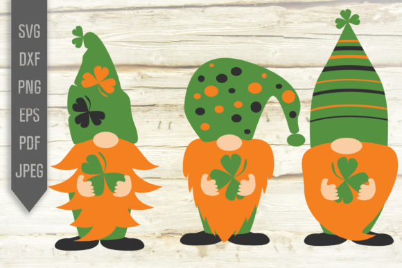 Irish Gnomes Graphic Crafts By Mint And Beer Creations - Image 1