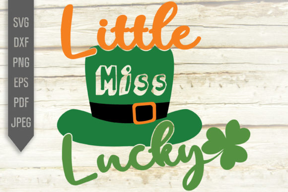 Print on Demand: Little Miss Lucky Graphic Crafts By SVGlaboratory