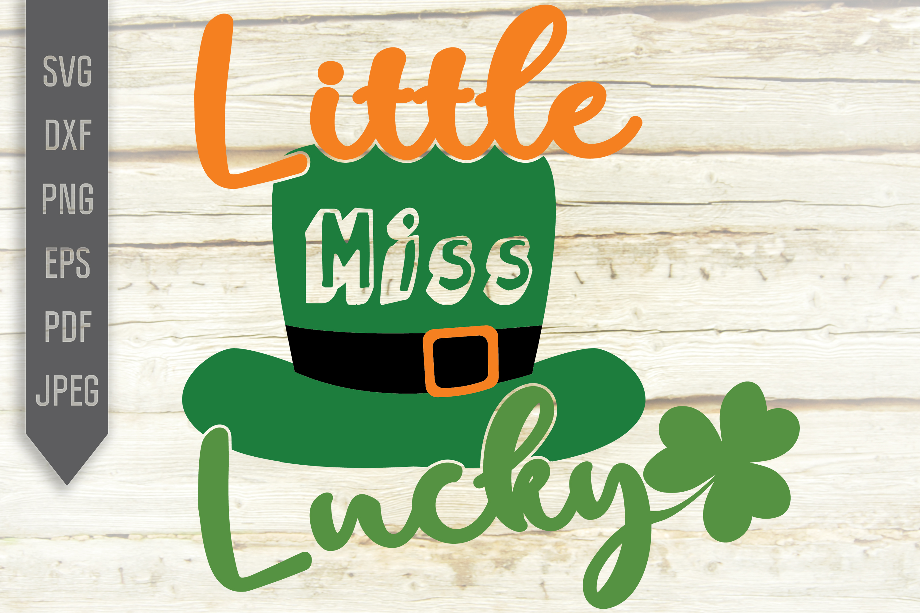 Download Free Little Miss Lucky Graphic By Svglaboratory Creative Fabrica for Cricut Explore, Silhouette and other cutting machines.