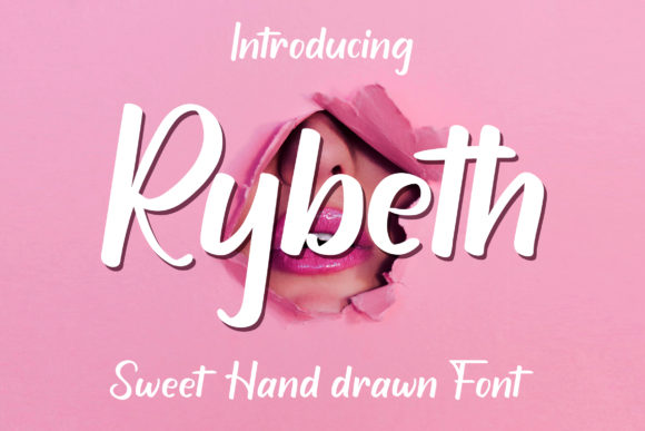 Print on Demand: Rybeth Script & Handwritten Font By AbasCreative