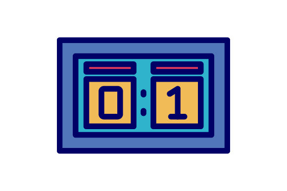 Download Free Scoreboard Hockey Filled Line Icon Logo Graphic By Graphicrun123 for Cricut Explore, Silhouette and other cutting machines.