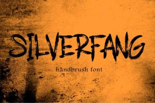 Print on Demand: Silverfang Blackletter Font By aminmario