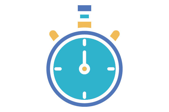 Download Free Timer Hockey Flat Icon Logo Design Graphic By Graphicrun123 for Cricut Explore, Silhouette and other cutting machines.