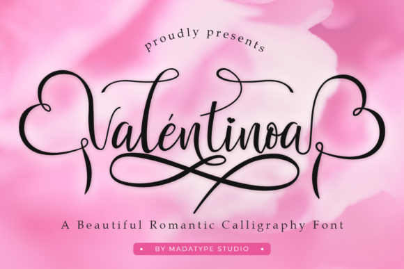 Print on Demand: Valentinoa Script & Handwritten Font By Madatype Studio