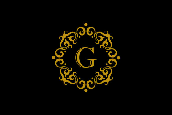 Download Free G Letter Gold Emblem Graphic By Noory Shopper Creative Fabrica for Cricut Explore, Silhouette and other cutting machines.