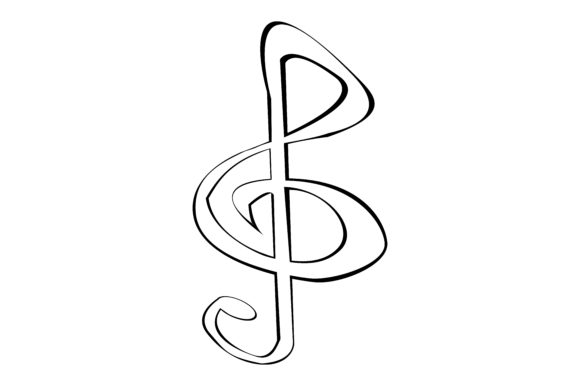 Download Free Musical Note Graphic By Rfg Creative Fabrica SVG Cut Files