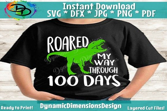 Print on Demand: 100th Day of School 100 Days Graphic Crafts By dynamicdimensions