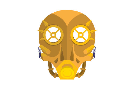 Steampunk Mask Svg Cut File By Creative Fabrica Crafts