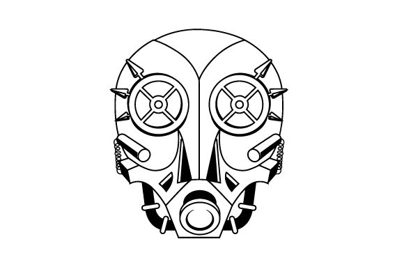 Download Free Steampunk Mask Svg Cut File By Creative Fabrica Crafts for Cricut Explore, Silhouette and other cutting machines.