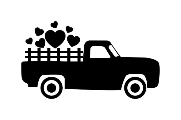 Download Free Valentine S Truck Svg Cut File By Creative Fabrica Crafts for Cricut Explore, Silhouette and other cutting machines.