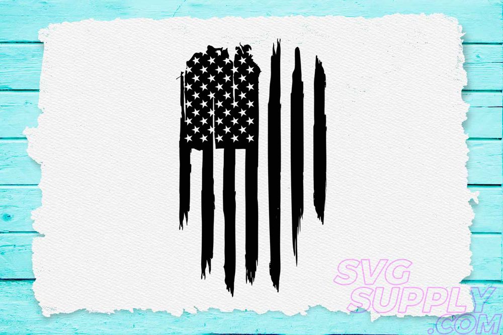 Download Free American Flag Distress Graphic By Svgsupply Creative Fabrica SVG Cut Files