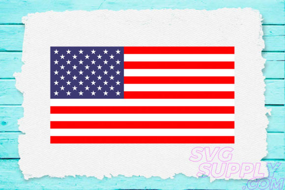 Print on Demand: American Flag Grafik Plotterdateien von svgsupply