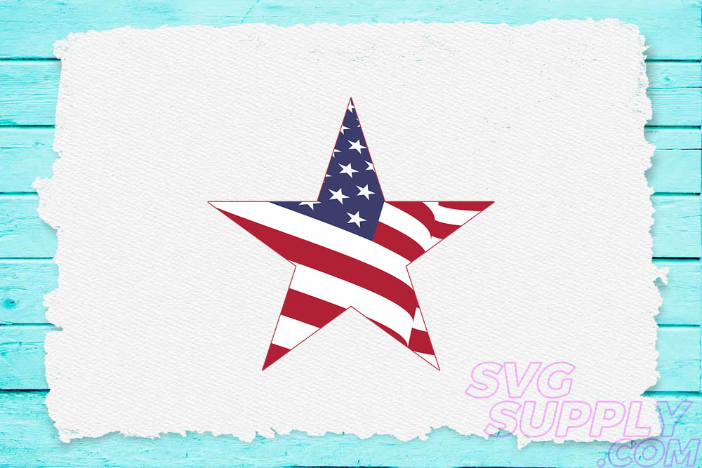 Download Free American Stars Graphic By Svgsupply Creative Fabrica for Cricut Explore, Silhouette and other cutting machines.