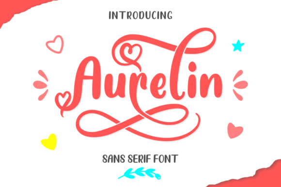 Print on Demand: Aurelin Sans Serif Font By kammaqsum