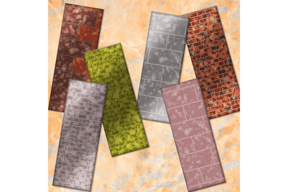 Download Free Brick Bookmarks Brick Printable Graphic By Denysdigitalshop for Cricut Explore, Silhouette and other cutting machines.